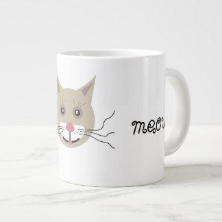 maullido taza de café gigante