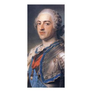 Mauricio de La Tour- Portrait de rey Louis XV Tarjeta Publicitaria A Todo Color