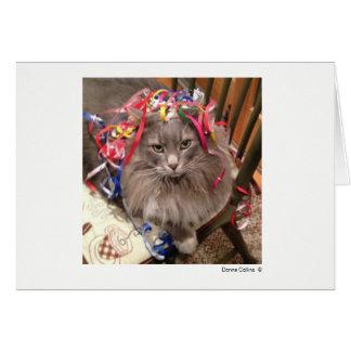 Máximo el gato   #-7 tarjeta pequeña