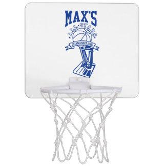 Máximo oficial todo el mini aro de baloncesto de