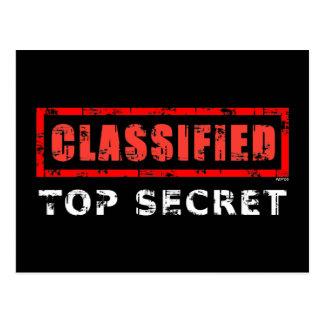 Máximo secreto clasificado postal