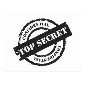Máximo secreto confidencial postal