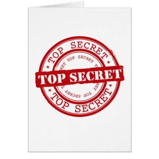 Máximo secreto tarjeta