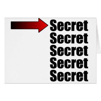 Máximo secreto tarjetas