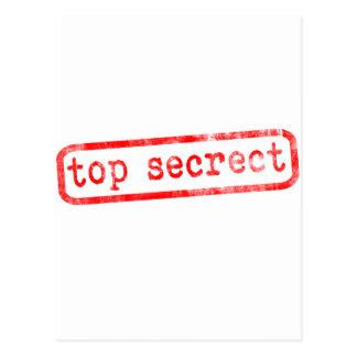 Máximo secreto tarjetas postales