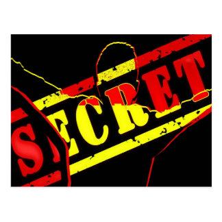 Máximo secreto tarjeta postal