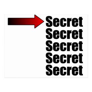Máximo secreto postales