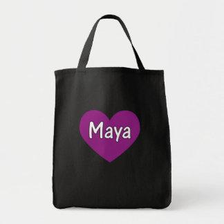 Maya Bolsa Tela Para La Compra