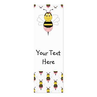 MayBee manosea la señal de la abeja Tarjeta De Visita