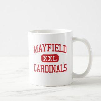 Mayfield - cardenales - centro - Mayfield Kentucky Taza De Café
