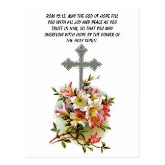 Mayo dios del terraplén de la esperanza usted con tarjetas postales