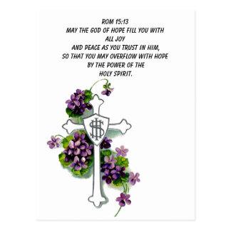 Mayo dios del terraplén de la esperanza usted con tarjeta postal