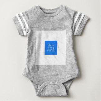 Mayo el 4to grado sea con usted regalo del body para bebé
