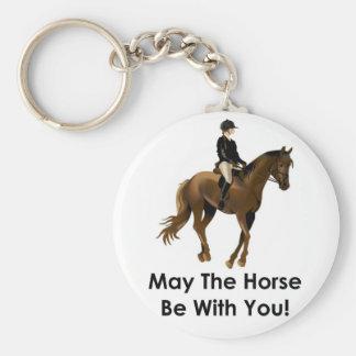 Mayo el caballo sea con usted llavero