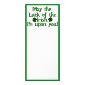 Mayo la suerte… de la imagen irlandesa del texto