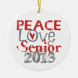 Mayor 2013 del amor de la paz ornamentos de reyes