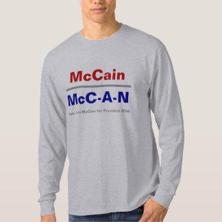 McC-UNO-n - - camiseta larga de la manga