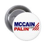 McCain Palin 2008 Pin
