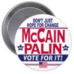McCain Palin 2008 Pins