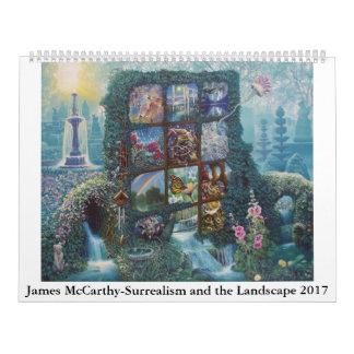 McCarthy-Surrealismo y el paisaje 2017 de James Calendario