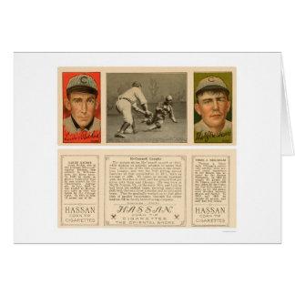 McConnell cogió el béisbol 1912 de Chicago Tarjeta
