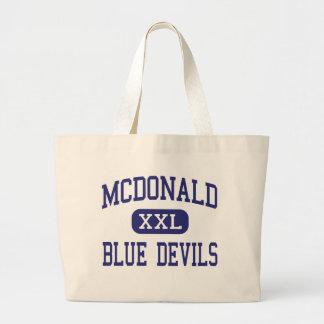 McDonald - diablos azules - alto - McDonald Ohio Bolsa