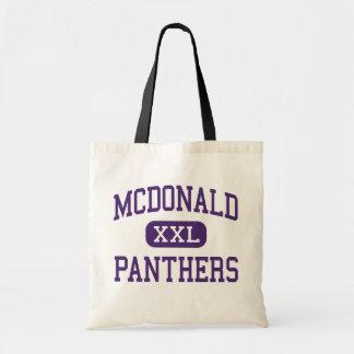 McDonald - panteras - joven - Katy Tejas Bolsa Tela Barata