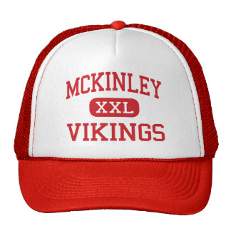 McKinley - Vikingos - centro - Racine Wisconsin Gorra