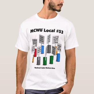 MCWU local#53 Camiseta