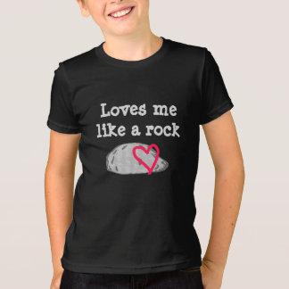 Me ama como una camisa de la roca