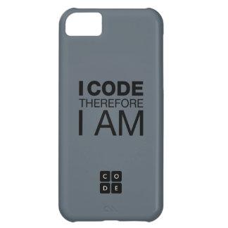 Me cifro por lo tanto estoy funda para iPhone 5C
