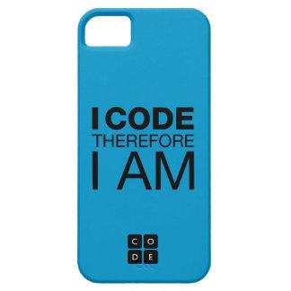 Me cifro por lo tanto estoy iPhone 5 funda