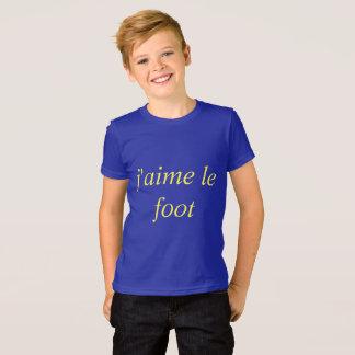 me gusta el fútbol camiseta