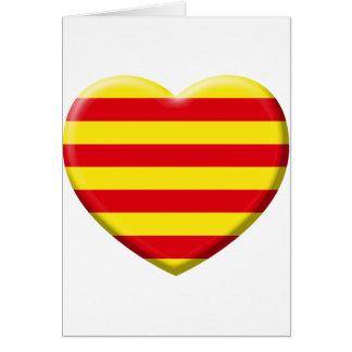Me gustan a los Catalanes Tarjeta De Felicitación