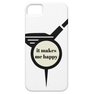 Me hace la taza del Feliz-Golf Funda Para iPhone SE/5/5s