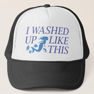 Me lavé para arriba como esto gorra de camionero