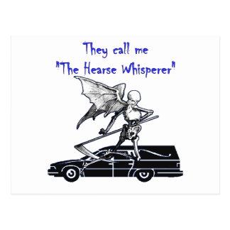 Me llaman Whisperer del coche fúnebre Postal