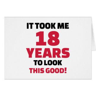 Me tardó 18 años para mirar esto bueno felicitaciones