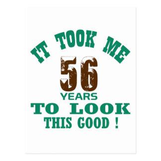 ¡Me tardó 56 años para mirar esto bueno! Postal