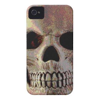 Mean Skull iPhone 4 Case-Mate Cobertura