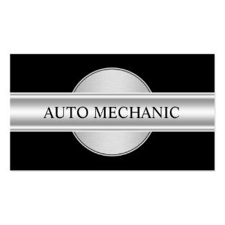 Mecánico automotriz fresco tarjetas de visita