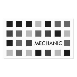 MECÁNICO (cuadrados de la MOD) Tarjetas De Visita