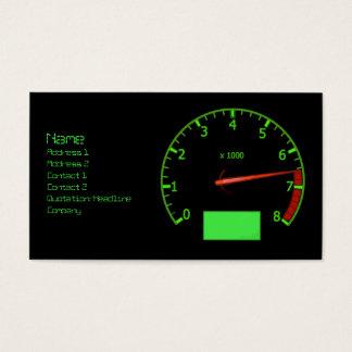 Mecánico de coche automotriz tarjeta de negocios