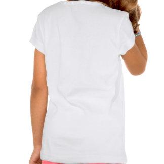 Mecánico de la hembra de la reparación del camisetas