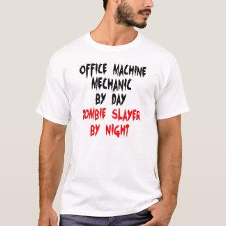 Mecánico de la máquina de oficina del asesino del camiseta