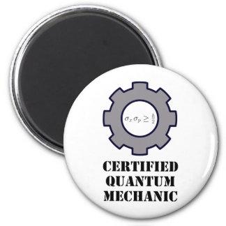 mecánico de quántum, principio de incertidumbre imán redondo 5 cm