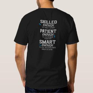Mecánico impresionante camisetas