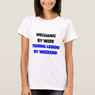 Mecánico por leyenda de la pesca de la semana por camiseta