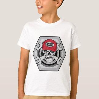 Mecánico Skull-01 Camiseta