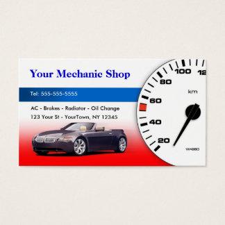 Mecánico/tarjeta de visita auto del cuerpo tarjeta de negocios